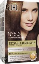 Guhl Beschermende Crème-kleuring No. 5.3 - Lichtgoudbruin