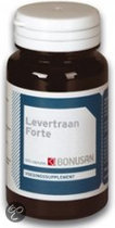 Bonusan Levertraan Forte - 120 Capsules - Voedingssupplement