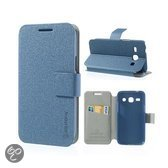 Samsung Galaxy Core Plus Bilitong Stand Case Dark Blue