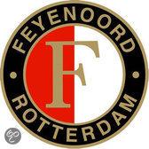 Feyenoord Fanbord - Logo - Metaal