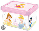 Curver Decobox Stockholm Opbergbox - 25 l - Kunststof - Diseny Princess