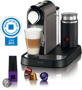 Krups Nespresso Apparaat CitiZ & Milk XN730T - Titanium