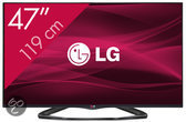 LG 47LA6608 - 3D led-tv - 47 inch - Full HD - Smart tv