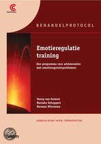 Emotieregulatietraining / 1 trainershandleiding en 1 cursusboek