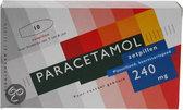 Leidapharm Paracetamol - 240 mg - 10 Zetpillen