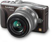 Panasonic Lumix DMC-GF6 + 14-42mm - Systeemcamera - Bruin