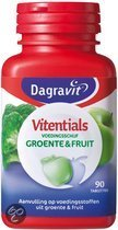 Dagravit Vitentials Groente & Fruit - 90 Tabletten- Multivitamine