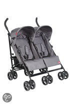 Top Mark - Twin Buggy - Grijs