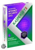 Kaspersky Internet Security 2013 - Benelux / 3 PC's / 1 jaar/ PKC (cd-key)