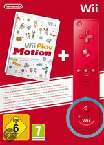 Foto van Nintendo Wii Play Motion + Remote Controller Rood