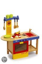 Base Toys Houten Kinderkeuken Magic