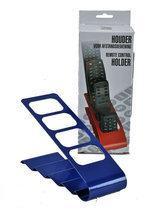 Afstandsbedieningshouder voor 4 afstandsbedieningen - blauw