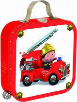 Kofferpuzzel Leon's Brandweerwagen