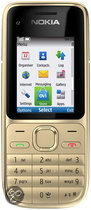 Nokia C2-01 - Warm zilver