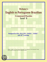 Webster's English To Portuguese Brazilian Crossword Puzzles: Level 9