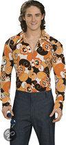 Groovy Shirt - Kostuum - Maat L - Oranje