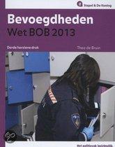 Bevoegdheden wet BOB / 2013