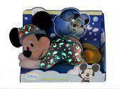 Nicotoy Mickey Mouse glow in the dark (30cm) - Knuffel