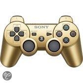 Foto van Sony PlayStation Draadloze Dualshock Controller Goud PS3