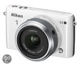 Nikon 1 S2 + 11-27.5 mm - Systeemcamera - Wit