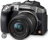 Panasonic Lumix DMC-G6 + 14-42mm - Systeemcamera - Zilver