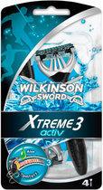 Wilkinson Xtreme 3 Active - 4 stuks - Scheermesjes