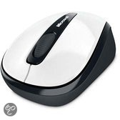 Microsoft Wireless Mobile Mouse 3500 - USB / Wit / Mac en Windows