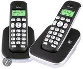 Profoon PDX-7420 - Duo DECT telefoon - Zwart