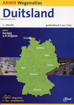 ANWB Wegenatlas Duitsland