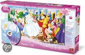 Disney  Puzzel + Cd Cinderella
