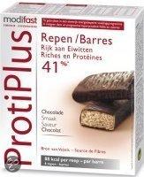 Modifast Protiplus Chocolade - 6 stuks - Reep
