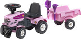 Falk Tractor Pink + Rac Set 1+