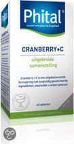 Phital Cranberry + C Tabletten 60 st