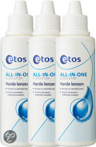 Etos All In One Vloeistuksof Harde Lenzen - 3 x 100 ml - Lenzenvloeistof