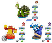 Skylanders Swap Force Adventure Triple Pack Slobber Tooth, Eruptor, Pop Fizz Wii + PS3 + Xbox360 + 3DS + Wii U + PS4