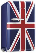 SMEG FAB10RUJ - Koel/vriescombinatie - Britse vlag