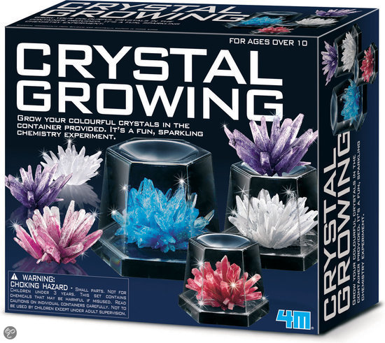 4M Science in Action - Crystal Growing Deluxe
