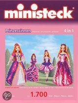 Ministeck 4-in-1 Prinsessen met Grondplaat