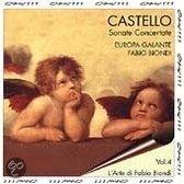 Castello: Sonate Concertate / Europa Galante