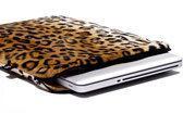 Laptophoes 17 inch Posh Leopard (bruin)