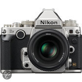 Nikon DF Zilver + 50mm F/1.8 G Special Edition