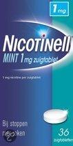 Nicotinell Mint 1 mg zuigtablet - 96 stuks - Antirookbehandeling