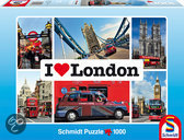 Schmidt I love London - Puzzel