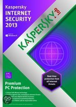 Kaspersky Internet Security 2013 - Benelux / 3 PC's / 1 jaar / DVD