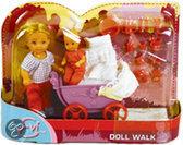 Simba Evi met poppenwagen