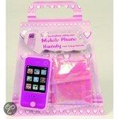 Mobiele Telefoon Inclusief Hoesje - Roze