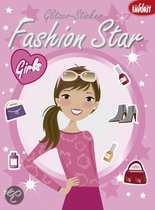 Fashion Star Glitter Stickers