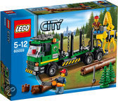 LEGO City Great Vehicles Boomstammentransport - 60059