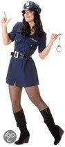 Dames politie jurkje met riem 44 (2xl)
