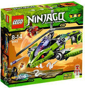 LEGO Ninjago Ratelkopter - 9443